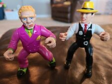 Vintage Playmates Toys Dick Tracy & Mumbles Action Figure 1990
