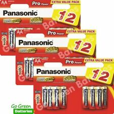 36 x Panasonic AA Pro Power Alkaline Batteries 2024 Expiry LR6 MX1500 MIGNON