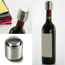 Home Stainless Steel Reusable Vacuum Sealed Red Wine Bottle Stopper