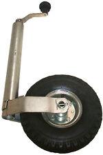 Roue jockey pour remorque/caravane - roue pneumatique - 48mm - 150kg