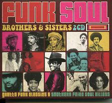 FUNK SOUL BROTHERS & SISTERS - 2 CD BOX SET, GHETTO CLASSICS & MORE