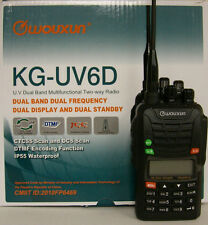 Wouxun KG-UV6D V2 136-174/216-280 MHz Dual Band Dual display 2 way radio