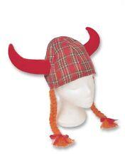 Jessie Tartan Viking Fun Novelty Scottish HatJESSIE TARTAN VIKING SCOTTISH NOVEL