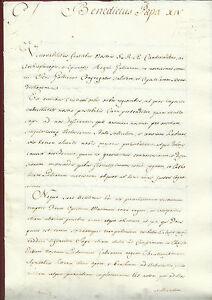 Trascrizione Bolla Papale Benedetto XIV Tolleranza Religiosa Giansenismo 1756