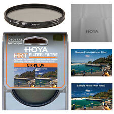Hoya 82mm HRT Circular Polarizing / UV Haze Filter. U.S Authorized Dealer