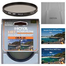 Hoya 82mm HRT Circular Polarizing / UV Haze Filter. U.S Authorized Dealer