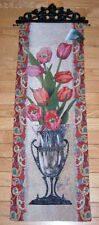 Paisley Tulips Tapestry Wall Hanging Panel ~ Alma Lee