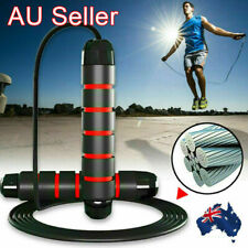 Yoga Gym Skipping Exercise Adjustable Steel Wire Bearing Fast Speed Jump Rope