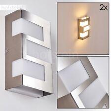 LED UpDown Garten Veranda Hof Terrassen Leuchte Design Aussen Wand Lampe 2er Set