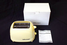 NEW Official Volkswagen VW LOGO Original Toaster Not for Sale Cream Color AC100V