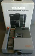 Vintage 1988 Hanimex AUTOMATIC Slide Projector Boxed Excellent Working Condition