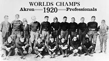 1920 AKRON PROS TEAM 8X10 PHOTO FOOTBALL PICTURE NFL CHAMPS