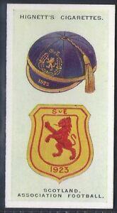 HIGNETT-INTERNATIONAL CAPS AND BADGES-#19- SCOTLAND ASSOCIATION FOOTBALL