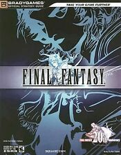 FINAL FANTASY [BRADYGAMES OFFICIAL STRATEGY GUIDE] (20TH