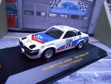 TRIUMPH TR7 V8 3.5 Rallye RAC GB 1977 #24 Pond British Leyland IXO 1:43