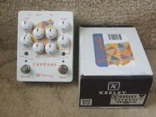 More details for keeley caverns v2 delay/reverb dual effects pedal.