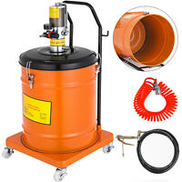 10 Gallon Grease Pump Air Pneumatic 40L 0.85 L/Min Air Operated High Pressure