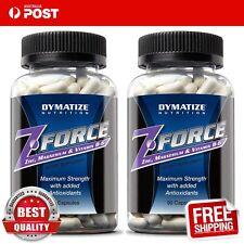 Dymatize Nutrition Z-Force ZMA Zinc Magnesium B6 90 caps x 2