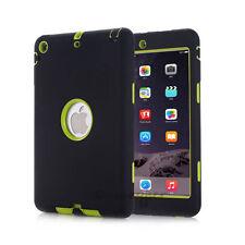 For iPad Mini 1/2/3 Retina Shockproof Heavy Duty Rubber Hard Case Cover USA