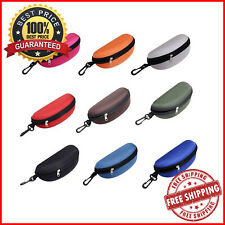 Sunglasses Hard Case Zipper Eyewear Storage Reading Glasses Pouch For Travelling