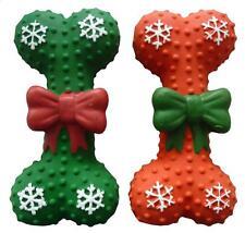 Christmas Dog Toy (Bone) Puppy