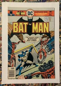 BATMAN #275 - MAY 1976 - ALFRED PENNYWORTH APPEARANCE! - FN (6.0) CENTS COPY!