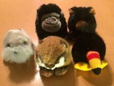 5 Swibco Puffkins: Toucan, Walrus, Bear, Gorilla, Chipmunk