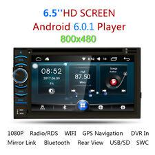 2 DIN TouchScreen Auto Stereo Autoradio Android 6.0 Quad Core DVD Lettore GPS EU
