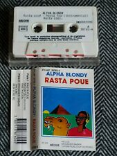 ALPHA BLONDY - Rasta poue - K7 audio / cassette / TAPE