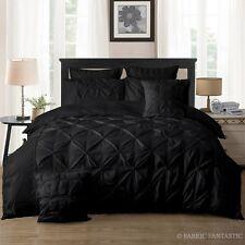 Diamond Pintuck Double/Queen/King/Super King Size Bed Duvet/Doona/Quilt Cover