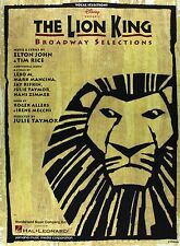 The Lion King Piano Vocal Selection Sheet Music Collection Book