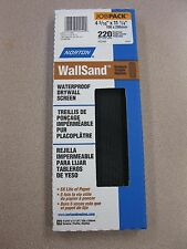 """10 Pack Norton Drywall Screen 220 Grit 4-3/16"""" X 11-1/4"""" NEW FREE SHIPPING BR220"""