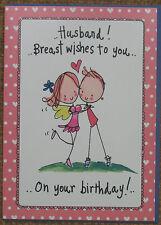 Juicy Lucy Birthday Card - Husband
