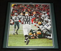 Ice Bowl Green Bay Packers Dallas Cowboys Framed 12x12 Poster Photo