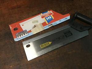 """Vintage 1970's Sandvik Tenon Saw 300 mm/12"""" No 248 Made in Sweden"""