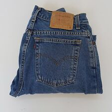 LEVIS 550 Vintage High Waisted Jeans Size 10 MIS M Tapered Leg Denim Women 30x30