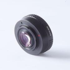 M42 lens Reducer speed booster turbo adapter to m4/3 mft GH4 GF6 GX1 EM5 EM1