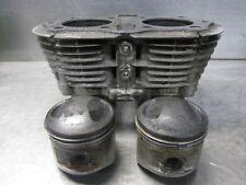 1980 Yamaha XS650 XS 650 Engine Cylinder Jugs Barrel and Pistons PRT001