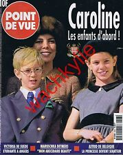 Point de vue n°2523 du 27/11/1996 Caroline Monaco Panthéon Champagne dom Ruinart
