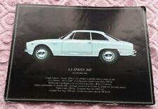 Alfa Romeo Sprint 2600 Brochure Catalog Brochure Booklet French