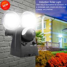 120LED Solar Powered Spot Light Motion Sensor Outdoor Floodlight Lamp Waterproof