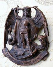 Antique 18th Century Saint Michael's Mount Chapel Pilgrimage Bronze Pendant