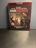 Four Brothers (HD-DVD, 2006) Mark Wahlberg ~ Tyrese ~ Brand New Sealed HD-DVD !!