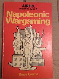 AIRFIX MAGAZINE GUIDE #4: NAPOLEONIC WARGAMING / Bruce Quarrie (1974) - Used