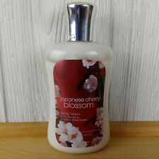 Bath & Body Works Japanese Cherry Blossom Signature Collection Lotion 8 oz Label