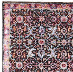 "Pahaalgam 5'7"" x 7'10"" Hand Knotted Oriental Parsian Silk & Woollen Area Rugs"