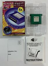 Nintendo 64 Memory Card Pak N64 Complete In Box