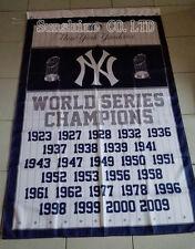 New York Yankees MLB 27 Time World Series Champions Flag