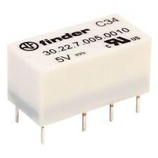 Buscador 30.22.7.005.0010 5 V Relé Interruptor DPDT de alta sensibilidad 1 A