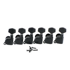 New Black 6L Left Hand Electric Guitar Tuning Pegs Machine Heads Tuning Keys